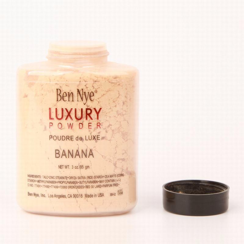 New Hot Ben Nye Banana Pó 3 Oz Garrafa Face Makeup Banana Ilumina Luxo Luxo Luxo 85G