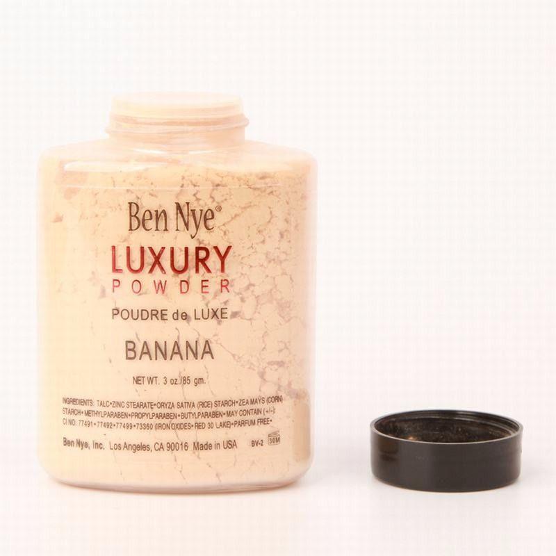 Nuevo caliente Ben Nye Banana Powder 3 oz Bottle Face Makeup banana aclara polvo de lujo de larga duración 85g