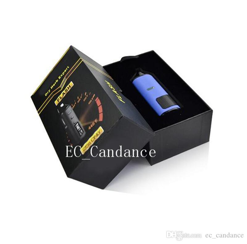 LVsmoke флэш-выпечки цифровой мини Dry Herb Vaporizer 0-446F Контроль температуры 1600 мАч Электронная сигарета Vape Pen Kit