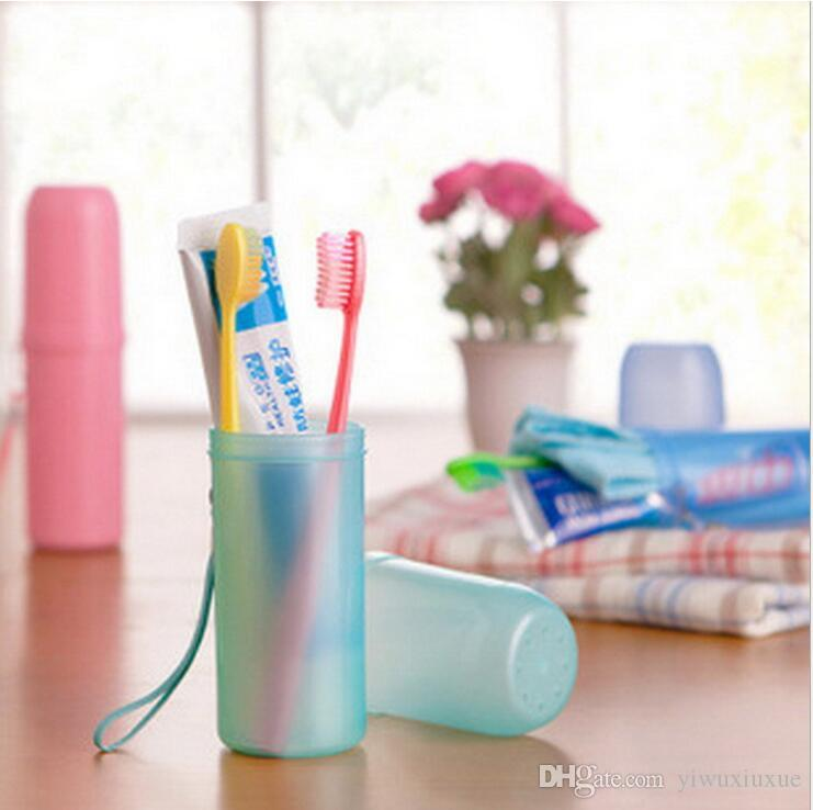 New Bathroom Accessories Cute Candy Color Travel Camp