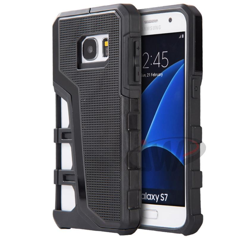 For iPhone 6S 6 Plus 5.5 inch Galaxy S7 Armor Hybrid Sport Dot Hard Phone Back Case for iPhone6 Samsung S7 Covers