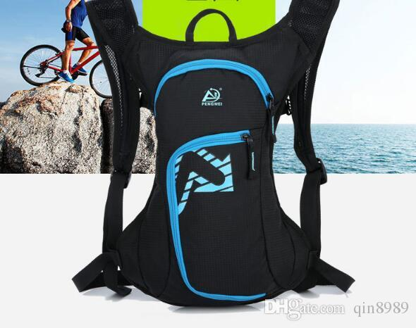 A new type of multi-functional outdoor sports and leisure waterproof portable light riding Backpack