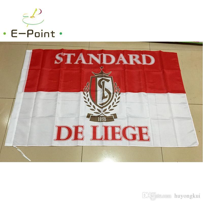 Бельгия стандарт де Льеж 3 * 5 футов 96 см*144 см полиэстер флаг баннер украшения летающий дом сад флаг праздничные подарки