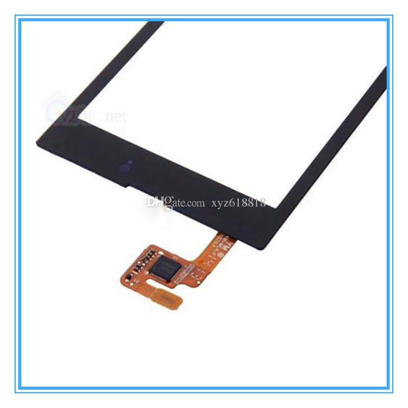 Touch Screen Digitizer For Nokia Lumia 520 N520 High Quality New Touch Panel Glass Lens Black with Frame Assembly