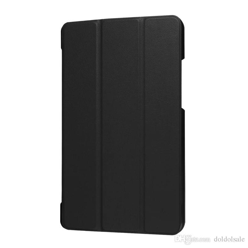 Ultra Slim Tri-Fold PU Leather Case Stand Cover for Lenovo TAB 3 8 Plus 8703 TB-8703 TB-8703F Tablet TAB3 8 Plus 8 Inch