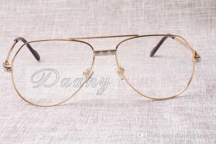 Cadre pour Direct cadre des lunettes de haute qualité de haute qualité des hommes ultra-léger 1324912 lunettes de mode Taille: 59-15-140MM