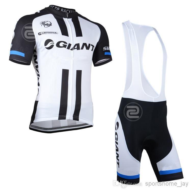 2014 gigante Mountain Racing Bike Cycling Clothing Set / Breathable Bicycle Cycling Jerseys Ropa Ciclismo / Manga corta Ciclismo Ropa deportiva