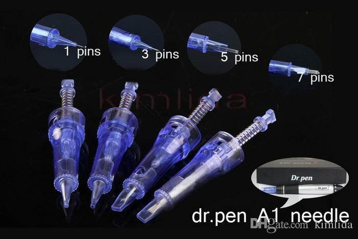 blue Needle Cartridge For Dr. Pen Derma Pen Needle 12 pin Bayonet Coupling Connection Good Quality Needles