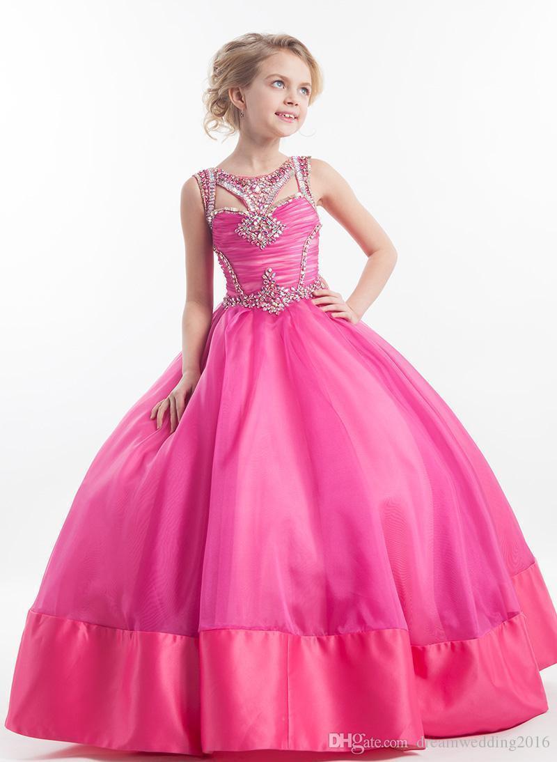 Compre Vestidos Del Desfile De La Belleza De Los Niños Para Los ...