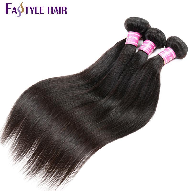 HEISSER VERKAUF !! Peruanische gerades Haar-Erweiterungs-unverarbeitete brasilianische malaysische indische Jungfrau-Menschenhaar-Großhandelsbündel /