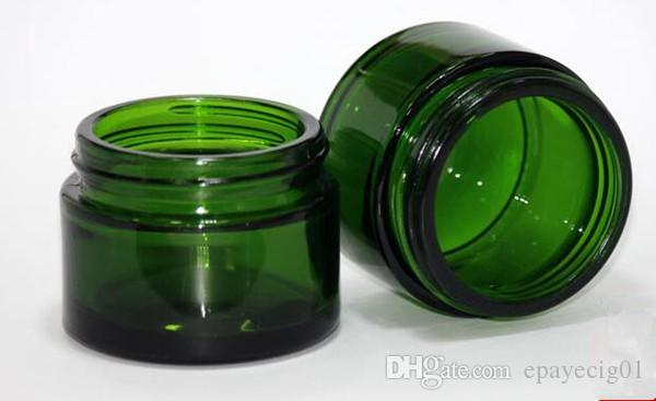 Green Color 50g Glass Jar Tempered Glass Storage Jars Dab Wax Jar Container  Oil Concentrate U0026 Cosmetic Cream Container 30ml Bottle Apothecary Bottles  From ...