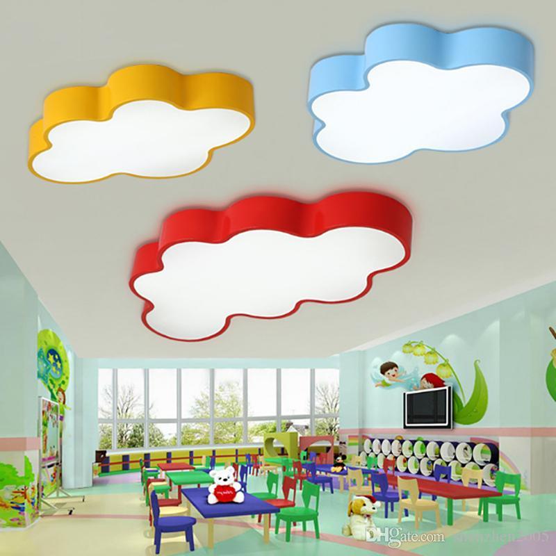 LED Cloud Kids Room Lighting Children Ceiling Lamp Baby