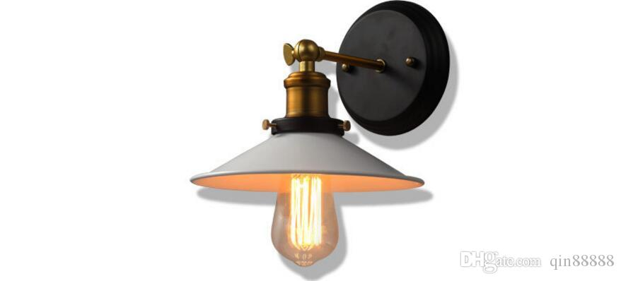 레트로 로프트 에디슨 벽 램프 침실 루이 Poulsen 벽 조명 집에 대 한 소박한 산업 벽 Sconce lamparas de pared