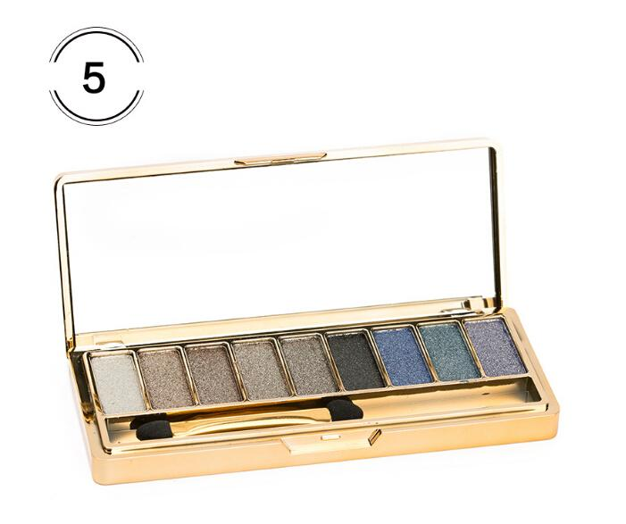 Wholesale big quantity high quality new arrival makeup Shining diamond eyeshadow palette so beautiful attractive