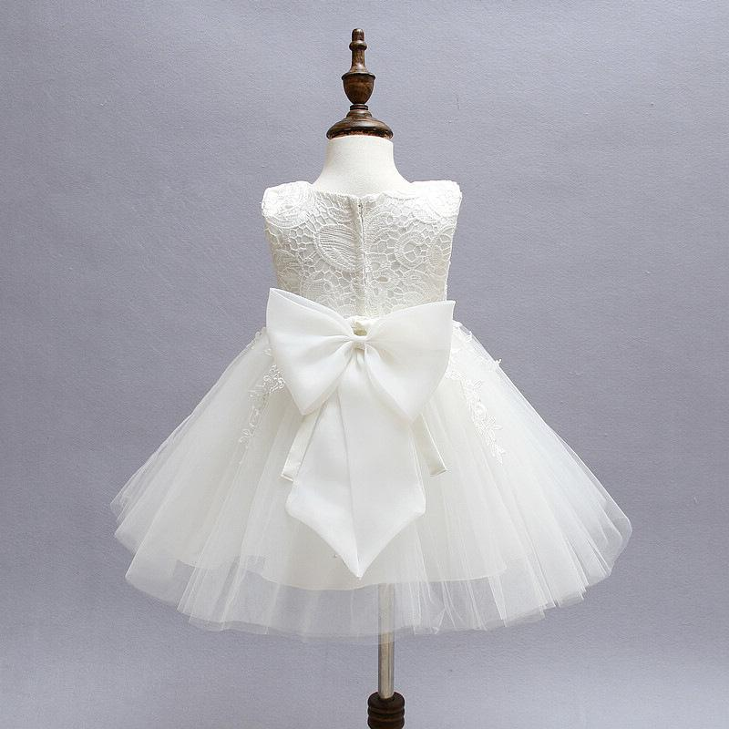Wholesale- Vintage Baby Girl Lace Christening Gown 2017 Newborn Baby ...
