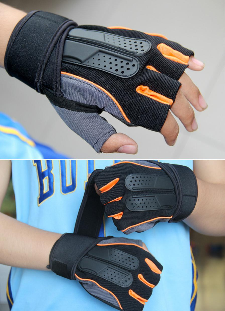 Gym Body Building Training Fitness Gloves Outdoor Sports Equipment Weight lifting Workout Exercise breathable Wrist Wrap