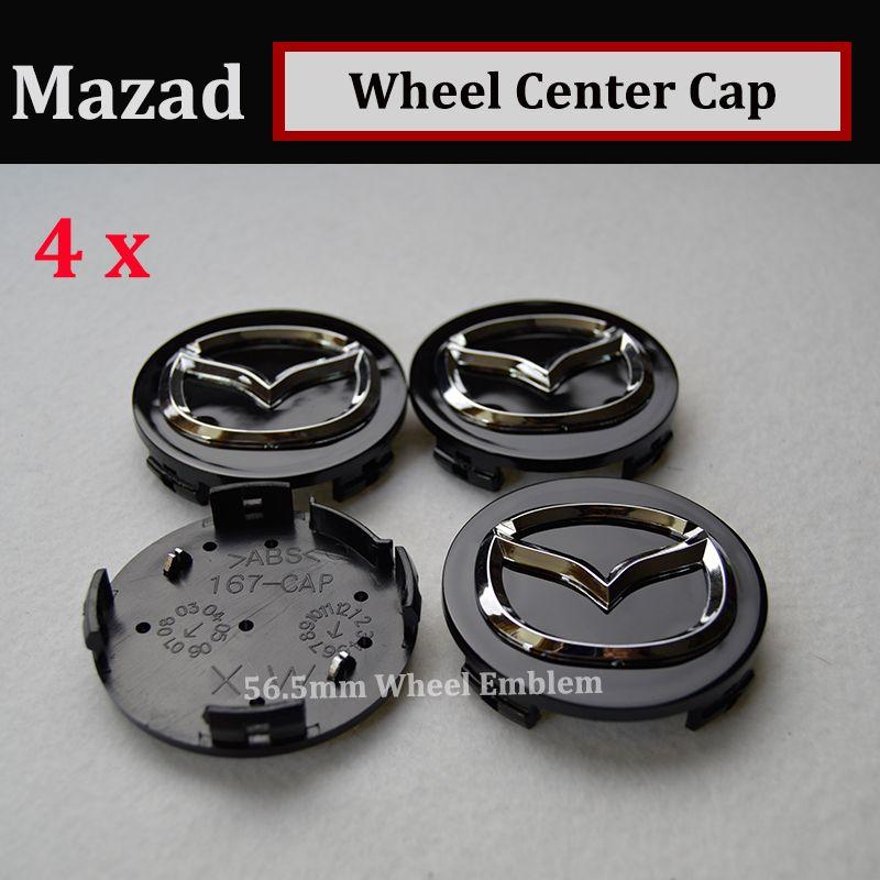 Hot sale 56mm emblem Auto Wheel Hub Emblem Caps for CX 5 7 9 RX MPV MX Car Wheel Center Covers