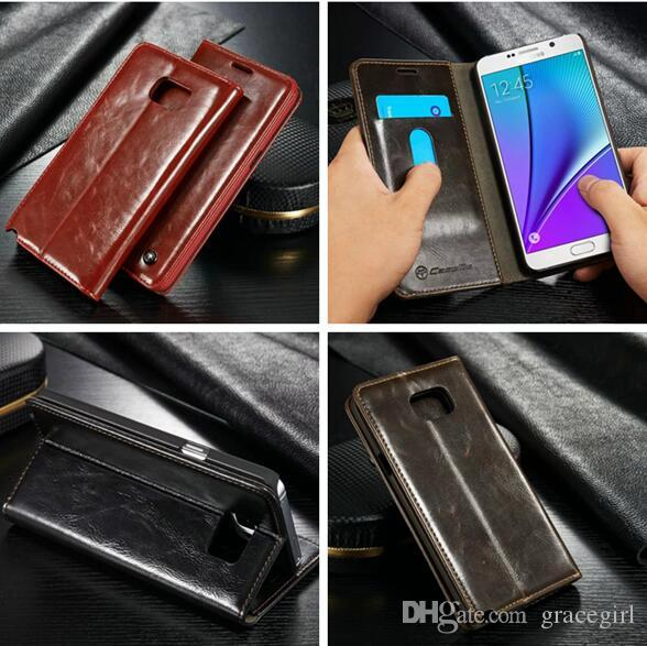 Luxury CaseMe Case R64 For Samsung Galaxy NOTE3 NOTE4 NOTE5 A3 A5 A7 2016 S4 S5 Mini A310 A510 Flip Wallet Leather Stand Card Pouch Cover