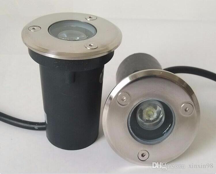 IP68 Waterproof 3W AC 85-265V LED Outdoor Ground Garden Path Floor Underground Buried Yard Lamp Spot Landscape Light 85~265V/AC