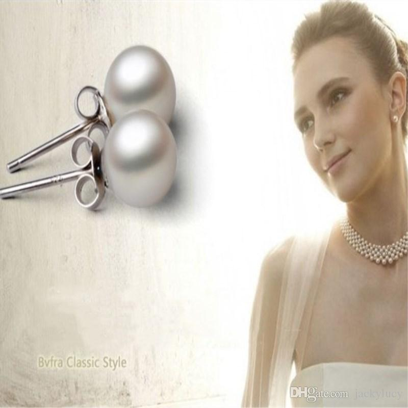 3c91c7b01f97 Cheapest Korean Style Fashion Pearl Earrings Alloy Stud for Women s ...