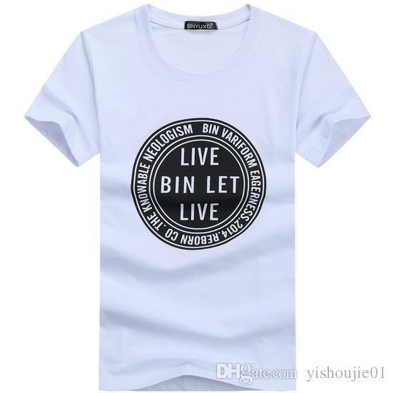 Marke 2017 neue sommer stil Baumwolle männer Kleidung Männlich Slim Fit t-shirt mann T-shirts Casual T-Shirts Swag herren tops tees