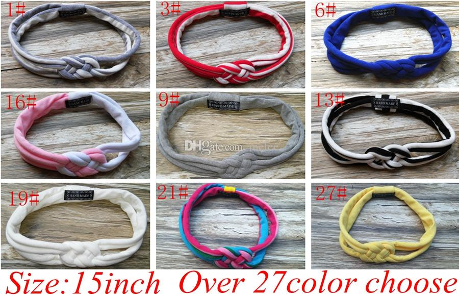 Ins Sailor Knot Baby Headband Newborn Toddler Or Adult Headband Durable  Fabric   Water Resistant Headwrap Knit Twist Knotted Hair Bands Ivory  Flower Hair ... ea97885605b