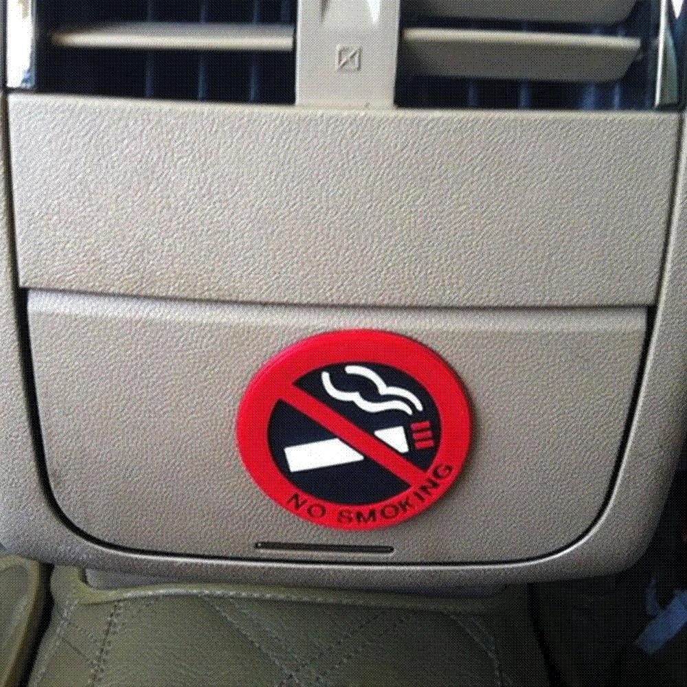 2019 rubber no smoking sign tips warning logo stickers car taxi door decal badge glue sticker promotion from baba8 4 47 dhgate com