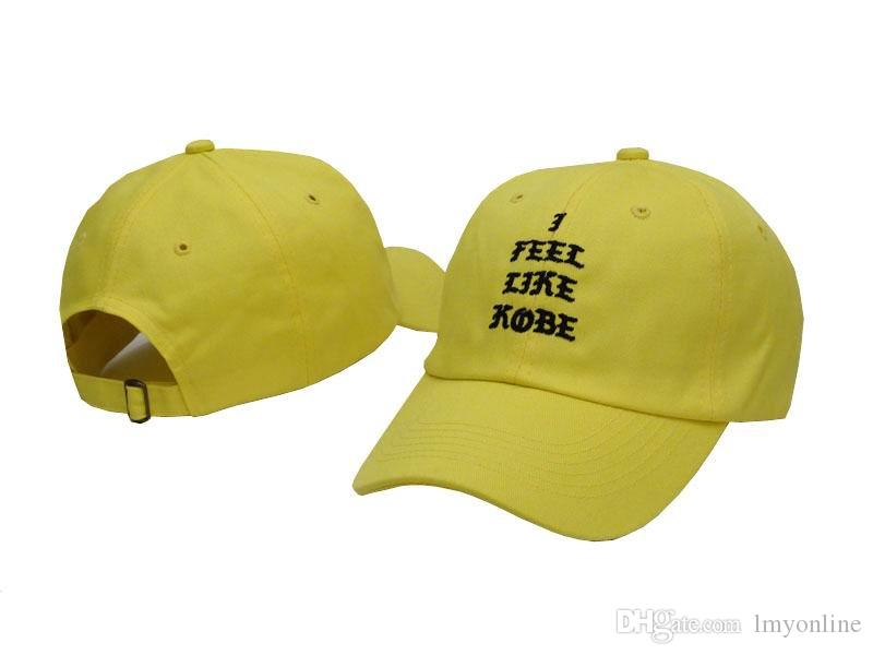 i Feel Like Kobe Cap Adjustable Brand i Feel Like LEBRON Hat Baseball Cap Hip Hop Women Men Snapback Sun hat Bone Bboy