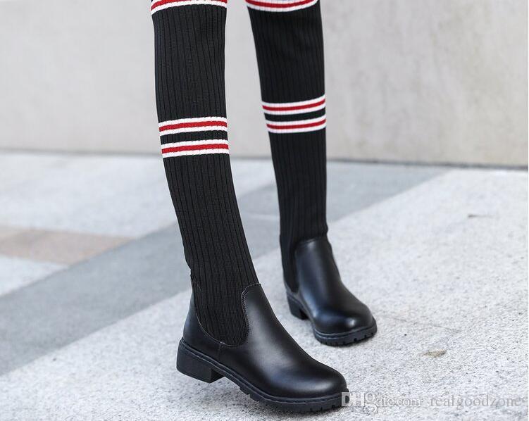 f73f55806af 2018 New Fashion Women s Winter Short Boots Sheepskin Thickened Fur ...