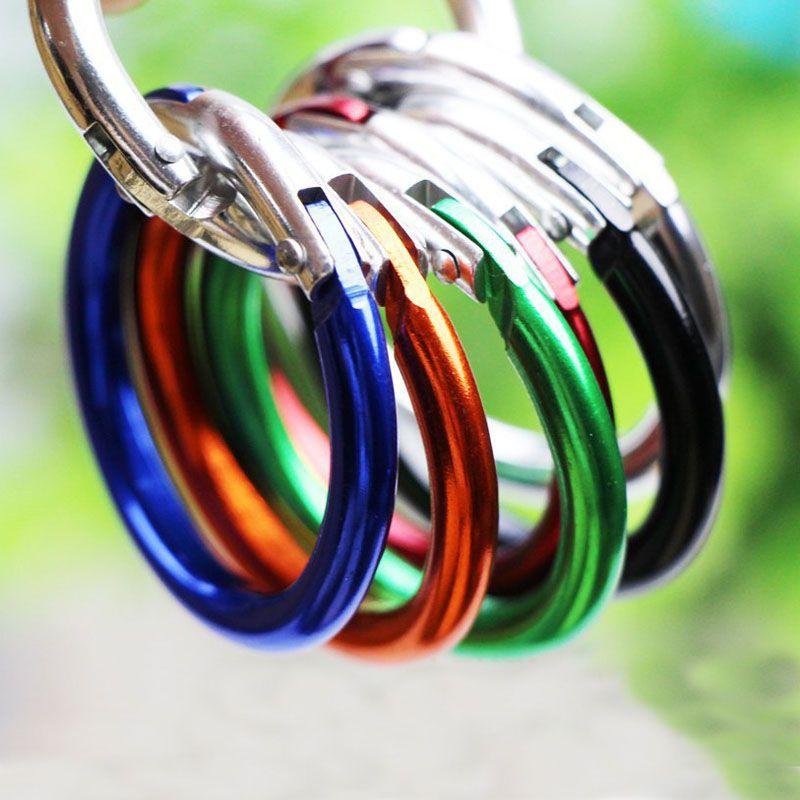 ful Circle Ring Buckle Handbags/Bag Hardware Parts ID 39mm Outdoor Aluminum Alloy Circular Hanging buckle