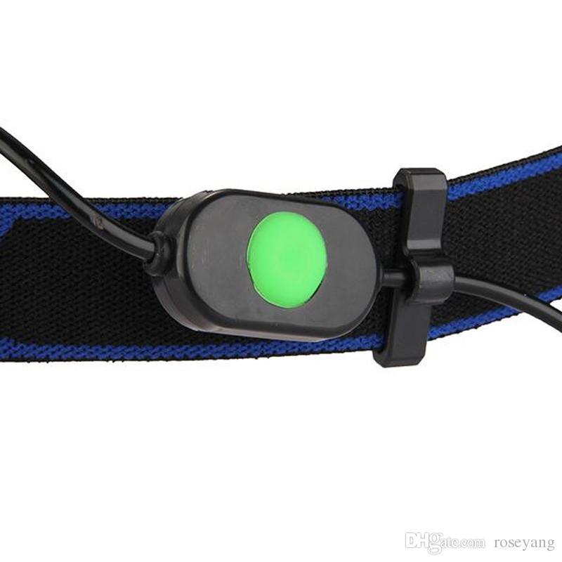 2000Lm XM-L T6 LED Phare Zoomable Phare 3Modes Lampe Torche Lampe + 2x 18650 Chargeur De Batterie Pour Activité De Plein Air