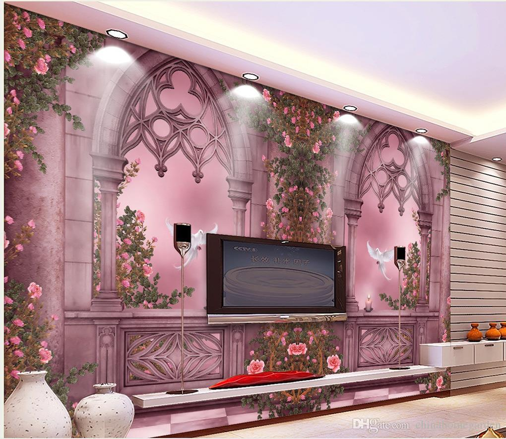new custom beautiful romantic sill rose garden art background new custom beautiful romantic sill rose garden art background mural 3d wallpaper 3d wall papers for tv backdrop download desktop wallpapers download free