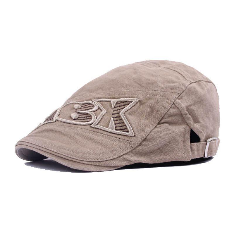 6263ee6c2d0 Wholesale-2016 New Fashion Male Flat Cap Leisure Men Newsboy Hat ...