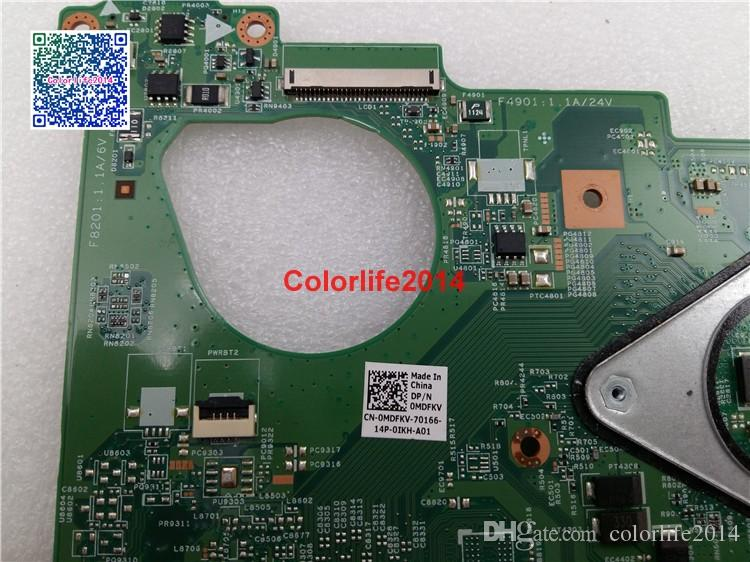 CN-0MDFKV 0Y0RGW For Dell Vostro 3550 V3550 Motherboard without Graphics Card Mainboard tested & Working perfect