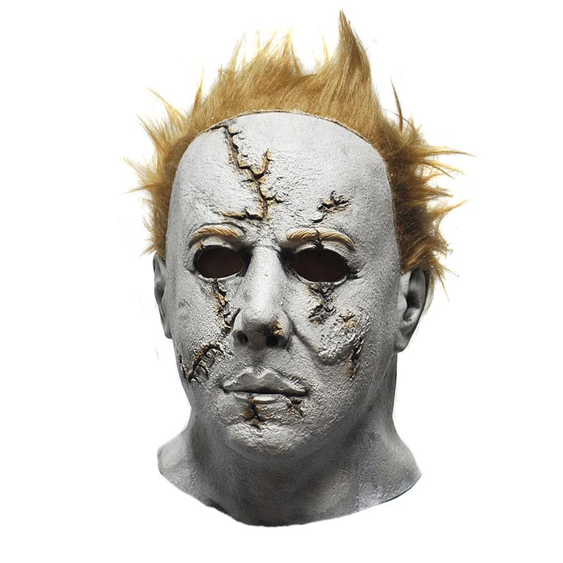 Wholesale Horror Movie Halloween Michael Myers Mask Adult Party Masquerade Cosplay Latex Sale Welding Female Online With 3187 Piece