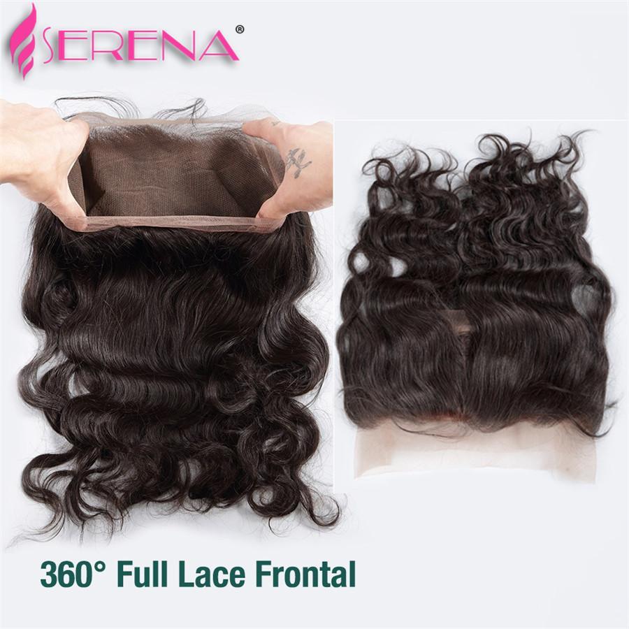 Brazilian Body Wave 360 Lace Frontal Closure Unprocessed Brazilian Virgin Human Hair Lace Frontal Closure 360 Lace Frontal Closure 13x4x2
