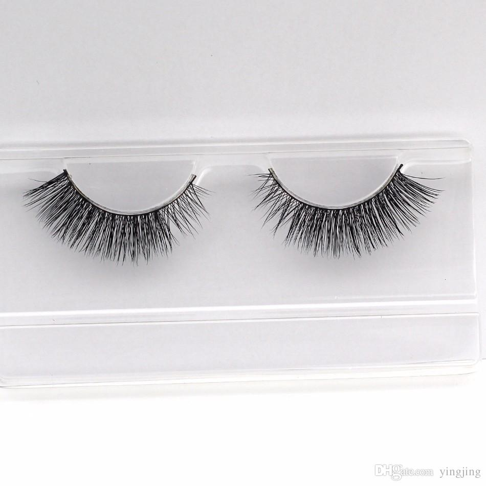 Eyelash! Handmade of 3D Mink False Eyelashes Natural Fake Eyelashes High Qality Pular beauty Make-up Tools