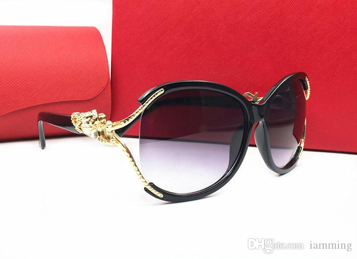 c78afe011c73 New Arrival Famous Brand Sunglasses Bling Style Butterfly Frame Fashion  Sunglasses Women Design Leopard Logo UV400 Lens With Red Box Glass Frames  Online ...