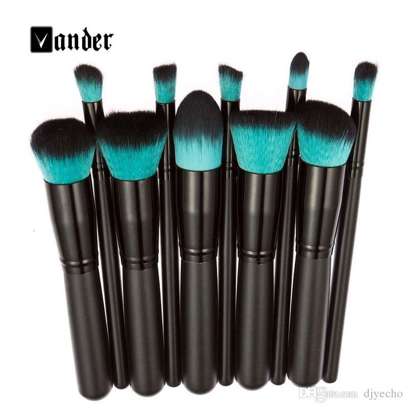 pinceau de maquillage Outils Ensembles brosse cosmétiques Fondation fard à paupières Eyeliner Lip Pinceau Poudre Pinceau Maquillage