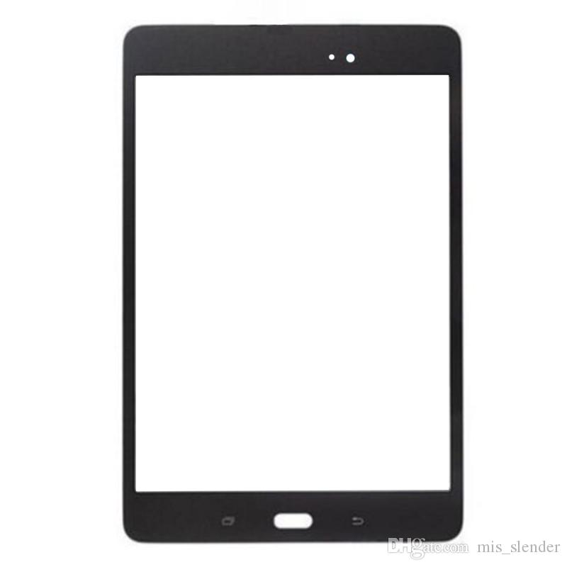 26ed2a79f1d Tested Black White Gold For Samsung Galaxy Tab S2 8.0 T710 T713 T715 T719  Touch Screen Outer Panel Front Glass Replacement DHL Free Screen Lcd Small  Lcd ...