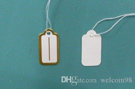 Label Tags Price Tags Card For Jewellery Gift Packaging Display 13mmX26mm LA6