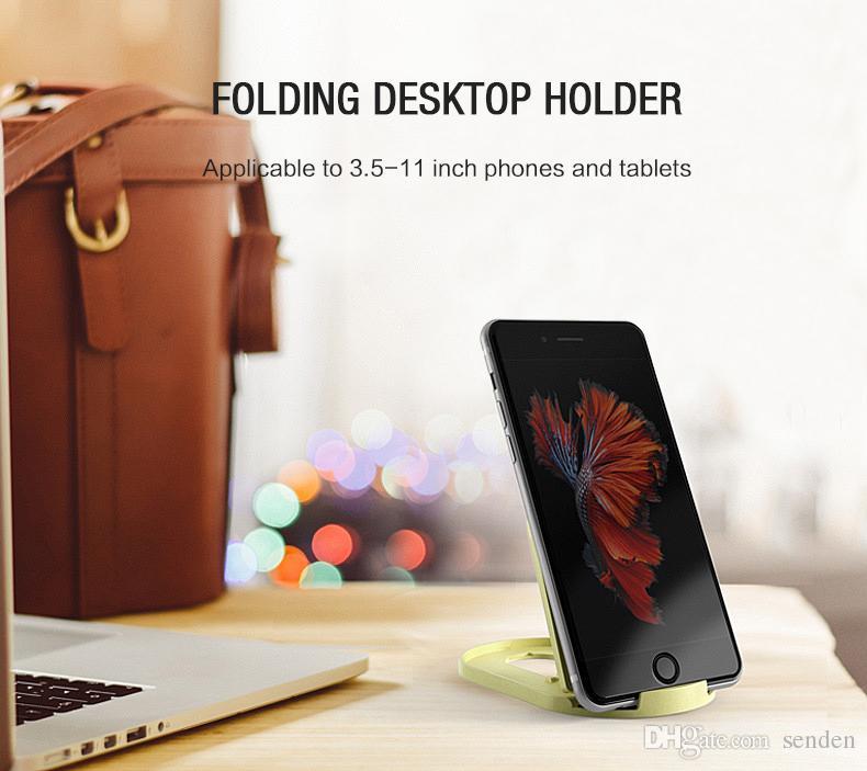 YGH-369 prezzo basso supporto universale del telefono cellulare, pieghevole portatile scrivania supporto del telefono cellulare Supporto tablet, iPhone iPad Samsung LG tutti i telefoni