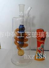 Spring colored glass hookah, a variety of patterns, patterns random delivery, wholesale glass hookah, glass bong, large bette