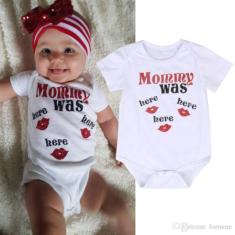 baby little girl romper letter print jumpsuit knitted cotton bodysuit boutique toddlers clothes infant nightgown onesies bonet pajamas small
