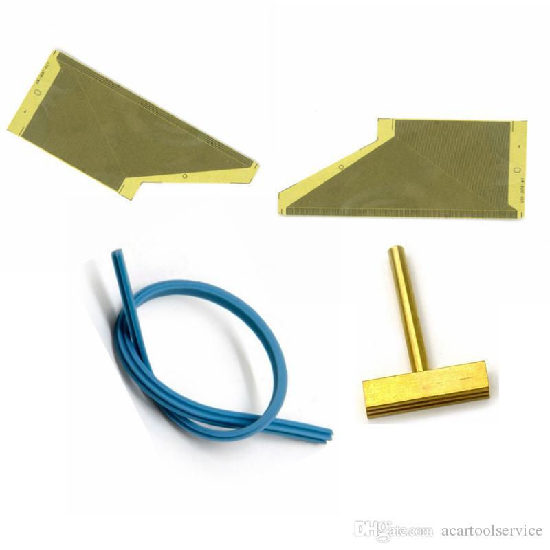 الشريط الكابل لأوبل أسترا صك كتلة لوحة أجهزة القياس LCD بكسل أداة إصلاح فشل لحام الشريط تي طرف الشريط