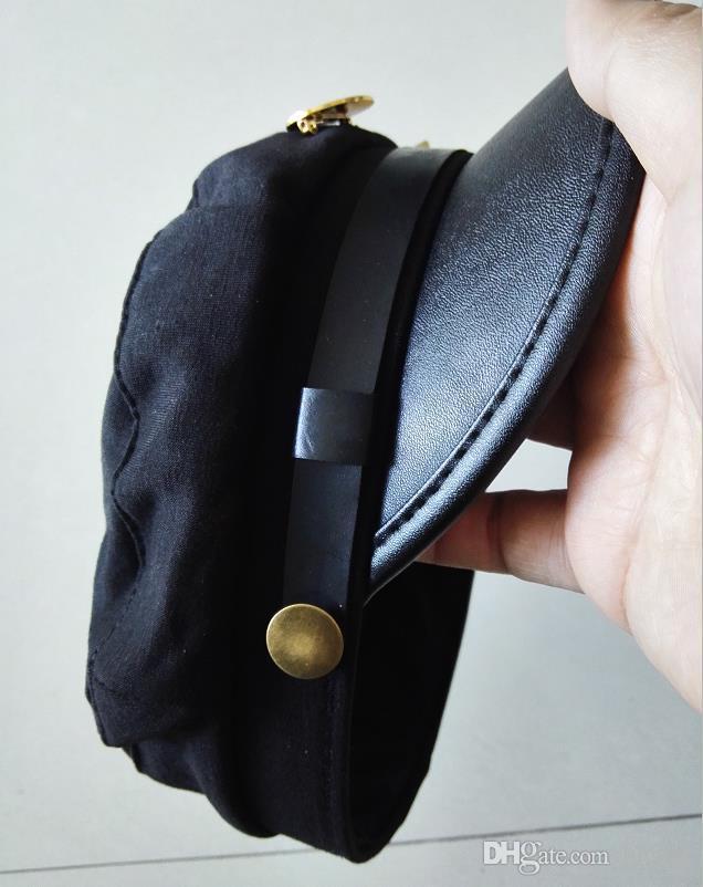 Avventura bizzarra Jotaro Kujo ver./Joseph Ver. Cosplay Hat + Pin / badge