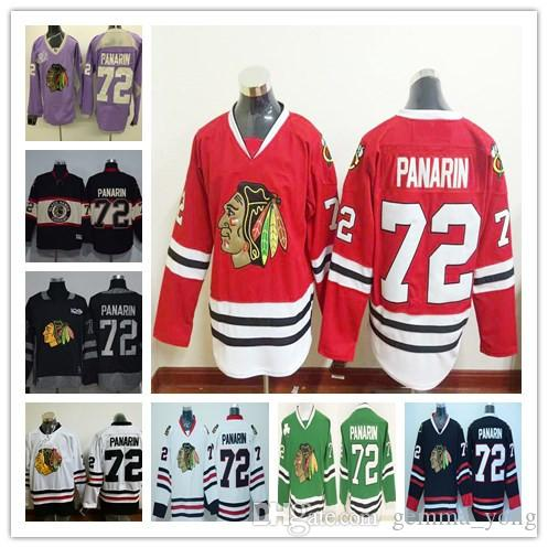 cc8e6e68f20 2019 72 Artemi Panarin Hockey Jerseys Chicago Blackhawks 2017 Winter  Classic Team Red Third Alternate White Black Green Uniforms Cheap From  Gemma_yong, ...