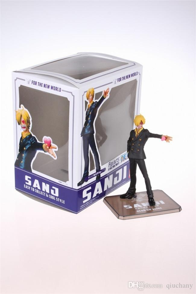 170618 QIUCHANY Anime MegaHouse Dimension Of One Piece ZERO The New World After 2 Years Sanji PVC Action Figure