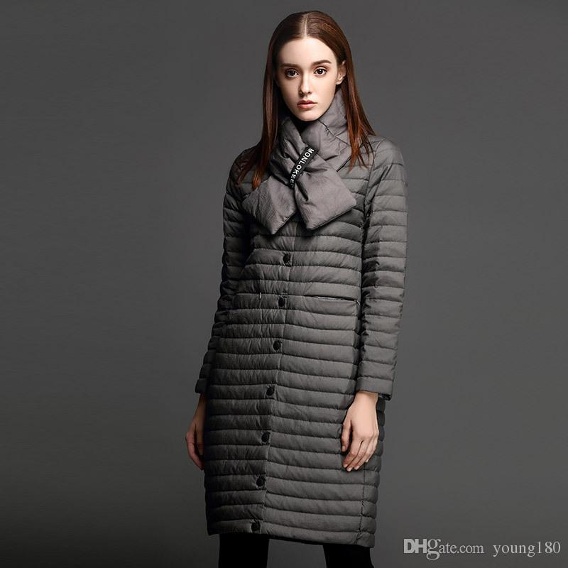 2017 Young Fashion Glossy Parka Women Jackets Duck Down Coats ...