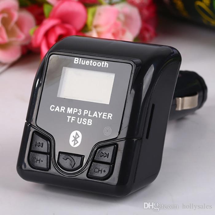 Kablosuz Araç Şarj Bluetooth verici Hoparlör handfree kitleri QSS-50 telefon tablet için USB Araç Şarj iphone 11 samsung not 10